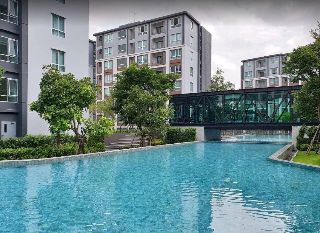 Dcondo ping Pool view (4S)@Central Festival อพาร์ตเมนต์ 2 ห้องนอน 2 ห้องน้ำส่วนตัว ขนาด 60 ตร.ม. – ฟ้าฮ่าม