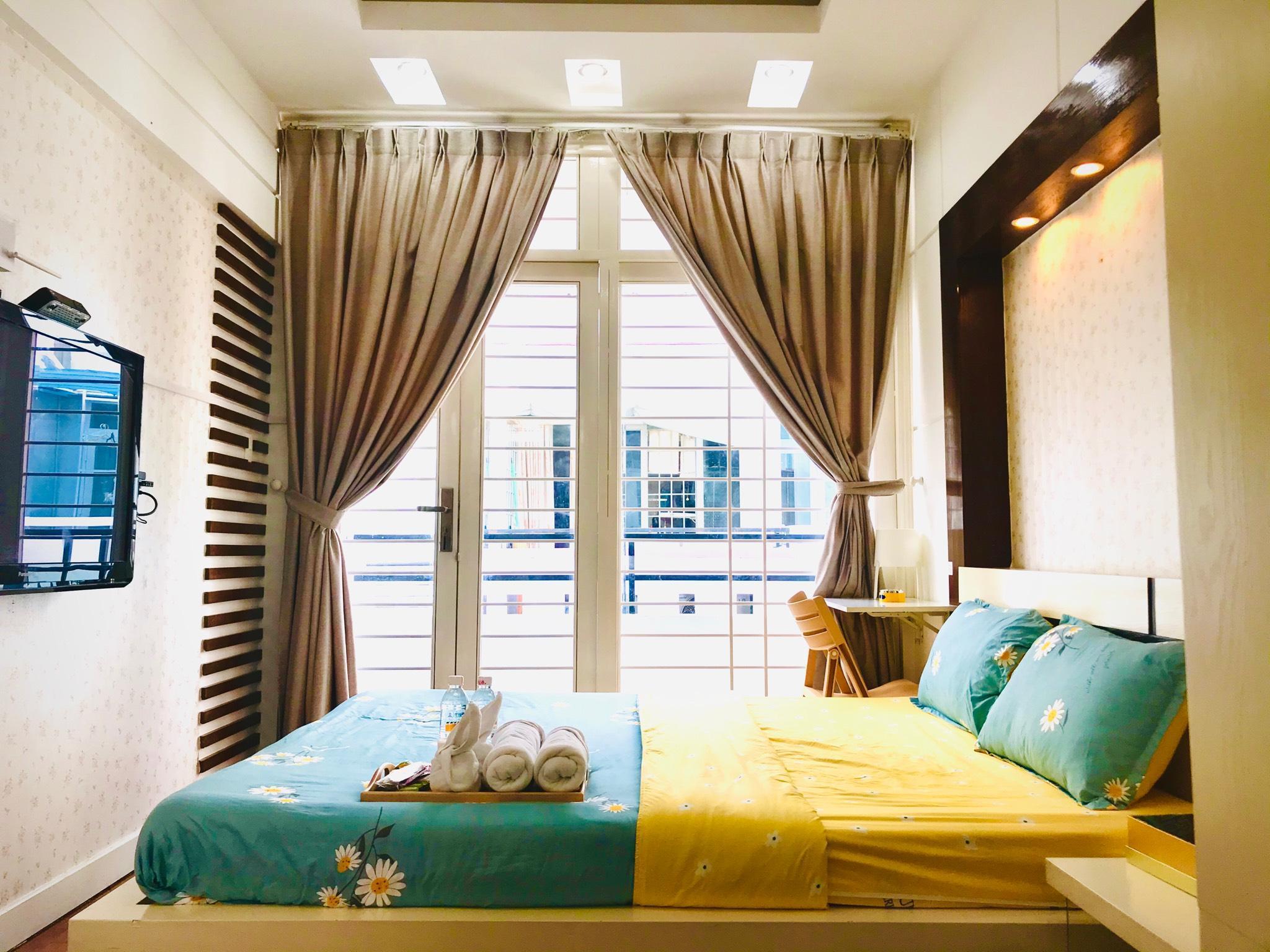 Meraki  Bright Room   5MIN TO BUI VIEN  District 1