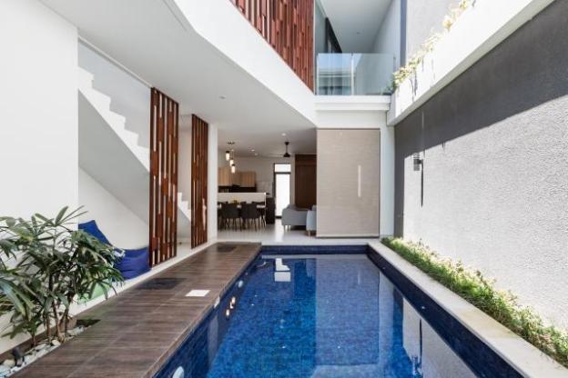Grand Minimalism Private Pool Close 2 Berawa Beach