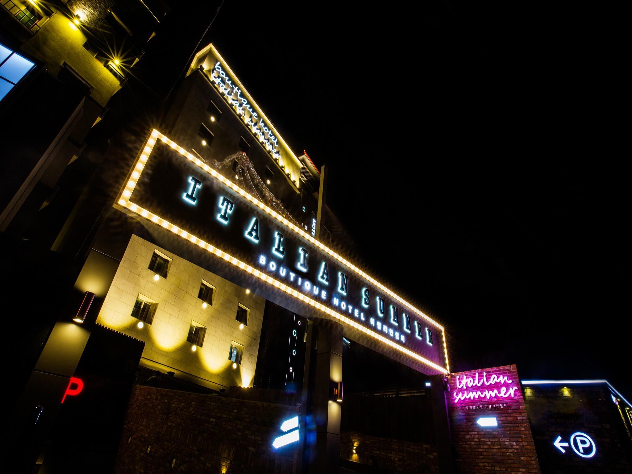 Italian Summer Boutique Hotel Songdo
