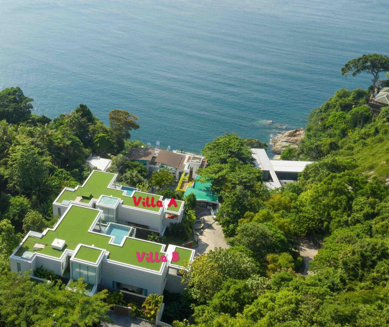 Full SeaView Villas,12 BRs, ChefDriverCinemaGym วิลลา 1 ห้องนอน 1 ห้องน้ำส่วนตัว ขนาด 2000 ตร.ม. – กมลา