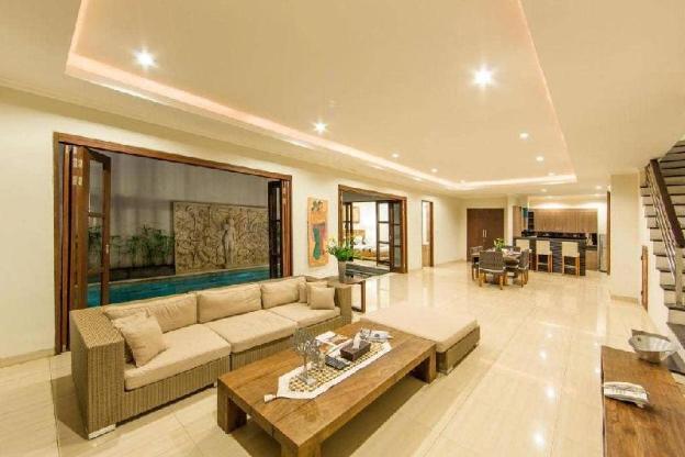 3BR Luxury+ Living Room Privat Pool@Seminyak