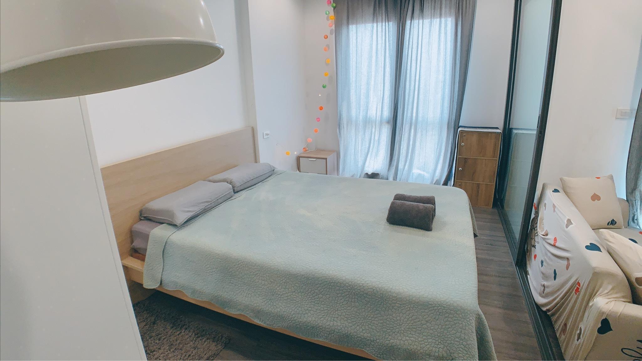 NO.044 nearby BTS /Chao Phraya River view room อพาร์ตเมนต์ 1 ห้องนอน 1 ห้องน้ำส่วนตัว ขนาด 30 ตร.ม. – ธนบุรี
