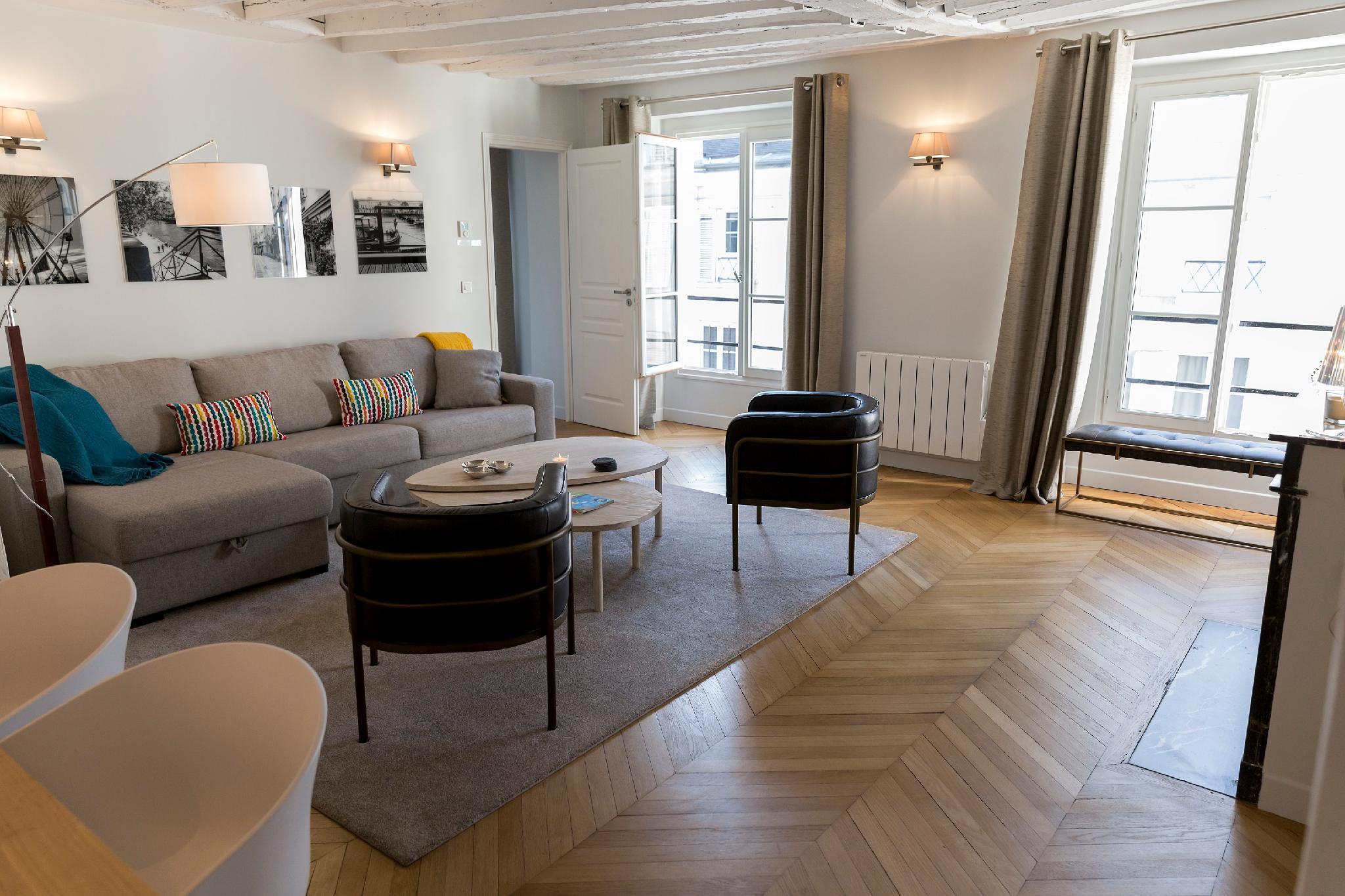 207549 - Appartement 6 personnes à Paris