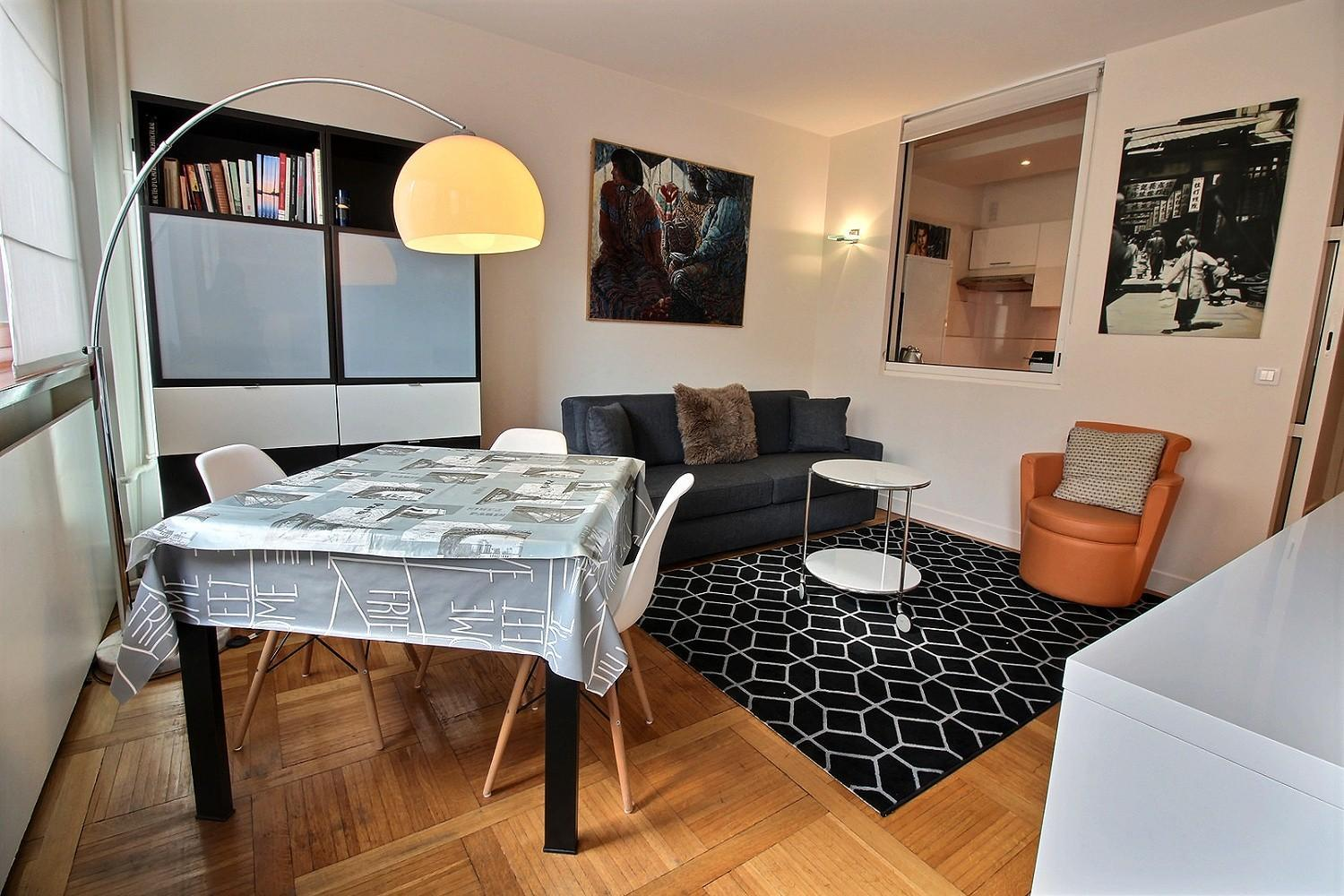 102296 - Modular apartment for 5 people between Opéra and Bourse