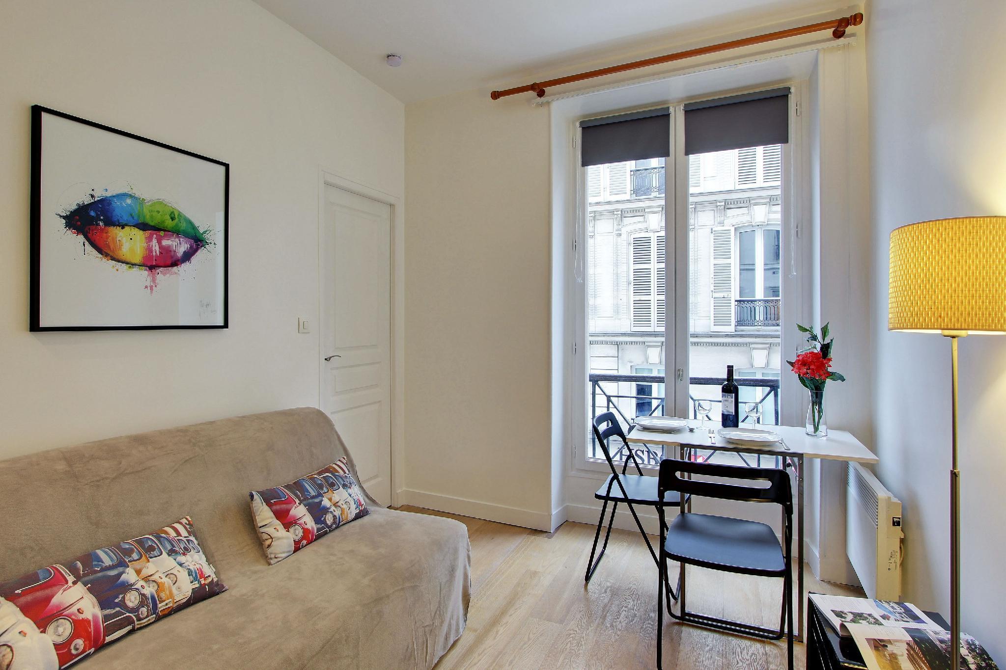 109116 - Great studio for 4 poeple near les Grands Boulevards