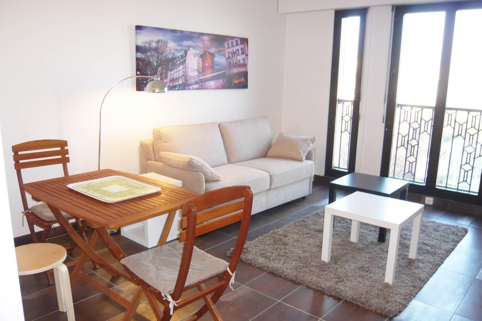 S01266 - Lovely studio with a stunning view, for 2 people next to Les Halles