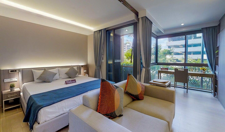 Modern 1 BR Urbitia Thong Lor by FlatMonthly อพาร์ตเมนต์ 1 ห้องนอน 1 ห้องน้ำส่วนตัว ขนาด 30 ตร.ม. – สุขุมวิท