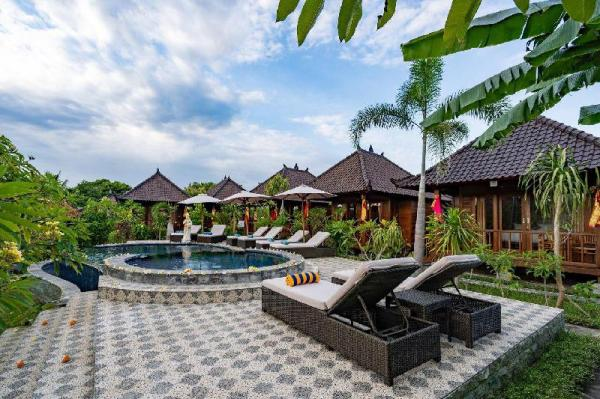 Karang Mas Villa (Deluxe Hut Pool View) Bali