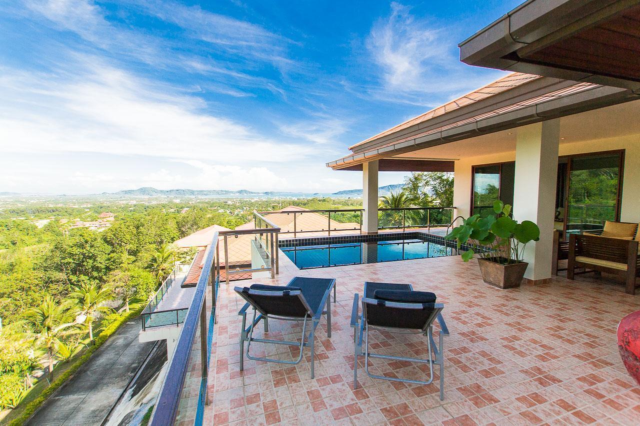 Sea View Treasure Park Pool Villa 3 With 5 Bedroom วิลลา 5 ห้องนอน 5 ห้องน้ำส่วนตัว ขนาด 800 ตร.ม. – ฉลอง