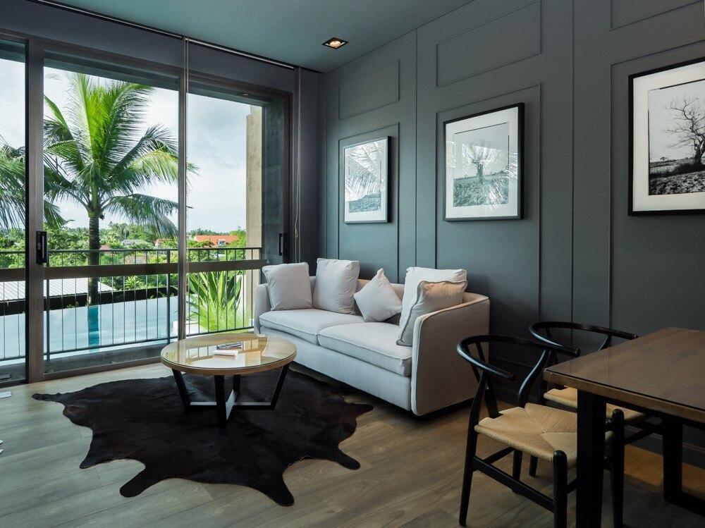 Luxurious Pool Access Apartment With 1 Bedroom อพาร์ตเมนต์ 1 ห้องนอน 1 ห้องน้ำส่วนตัว ขนาด 57 ตร.ม. – หาดราไวย์