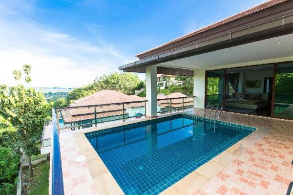 Expansive Sea View Pool Villa 4 With 5 Bedrooms  Phuket