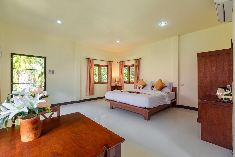 Ao-Nang,Free WIFI,Private Room,Krabi1 (King bed) วิลลา 1 ห้องนอน 1 ห้องน้ำส่วนตัว ขนาด 45 ตร.ม. – อ่าวน้ำเมา