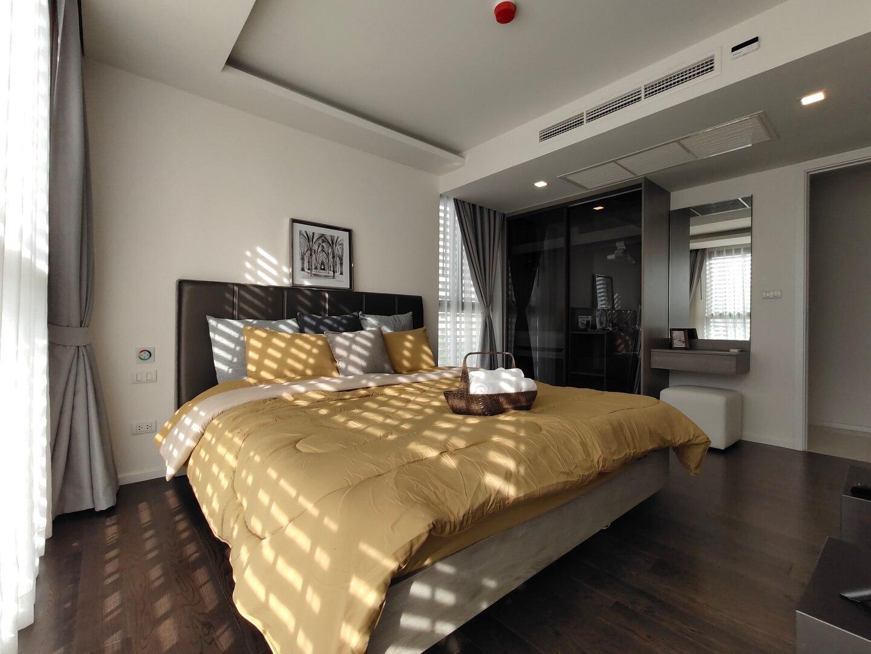 Bangkok&Pool&BTS Asoke&MRT Sukhumvit&Max4ppl อพาร์ตเมนต์ 2 ห้องนอน 2 ห้องน้ำส่วนตัว ขนาด 76 ตร.ม. – สุขุมวิท