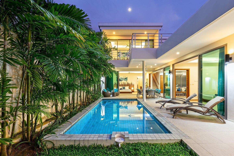 Villa Kasara บ้านเดี่ยว 4 ห้องนอน 4 ห้องน้ำส่วนตัว ขนาด 190 ตร.ม. – หาดราไวย์