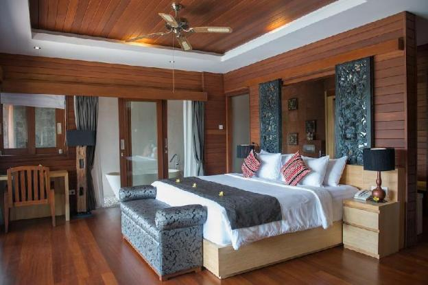 1BR Black Private Villa+Pool+HotTub+Mountain View
