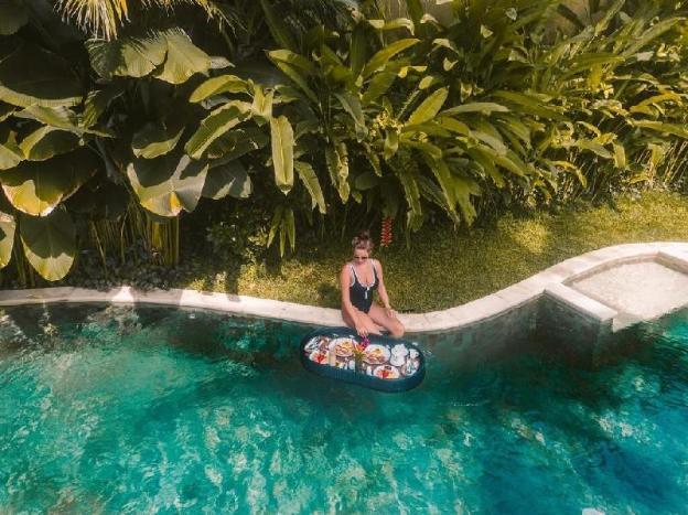 1BR Luxurious Private Pool Villa + Breakfast@Ubud