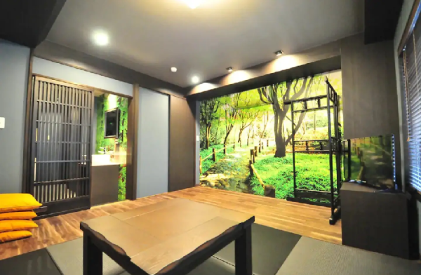 (S)Japanese Tatami Room near Tokyo-Tower Tokyo