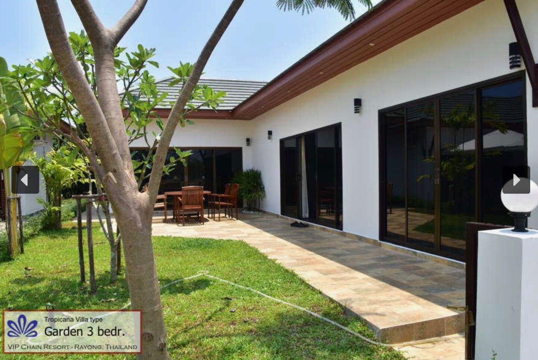 Tropicana Villa Garden 3 bedr 3 ห้องนอน 2 ห้องน้ำส่วนตัว ขนาด 75 ตร.ม. – หาดระยอง