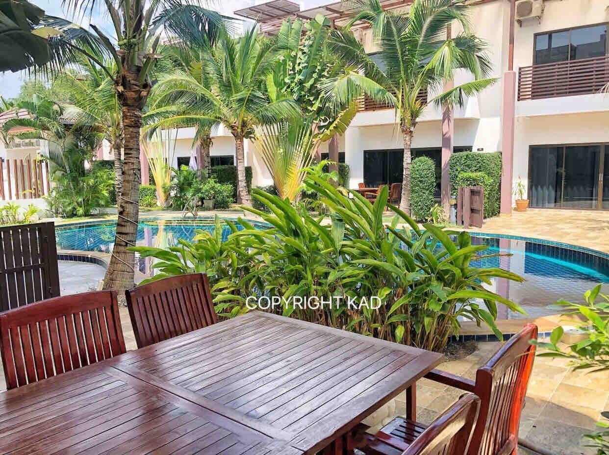 Oasis Garden II 4 beds 3 bathrooms 4 ห้องนอน 3 ห้องน้ำส่วนตัว ขนาด 45 ตร.ม. – หาดระยอง