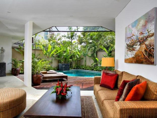 1BR Magnificent Villa with Pool + Bfast @Seminyak