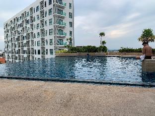 [パタヤ中心地]アパートメント(35m2)| 1ベッドルーム/1バスルーム Axis high-rise scenery, panoramic view 65sqa