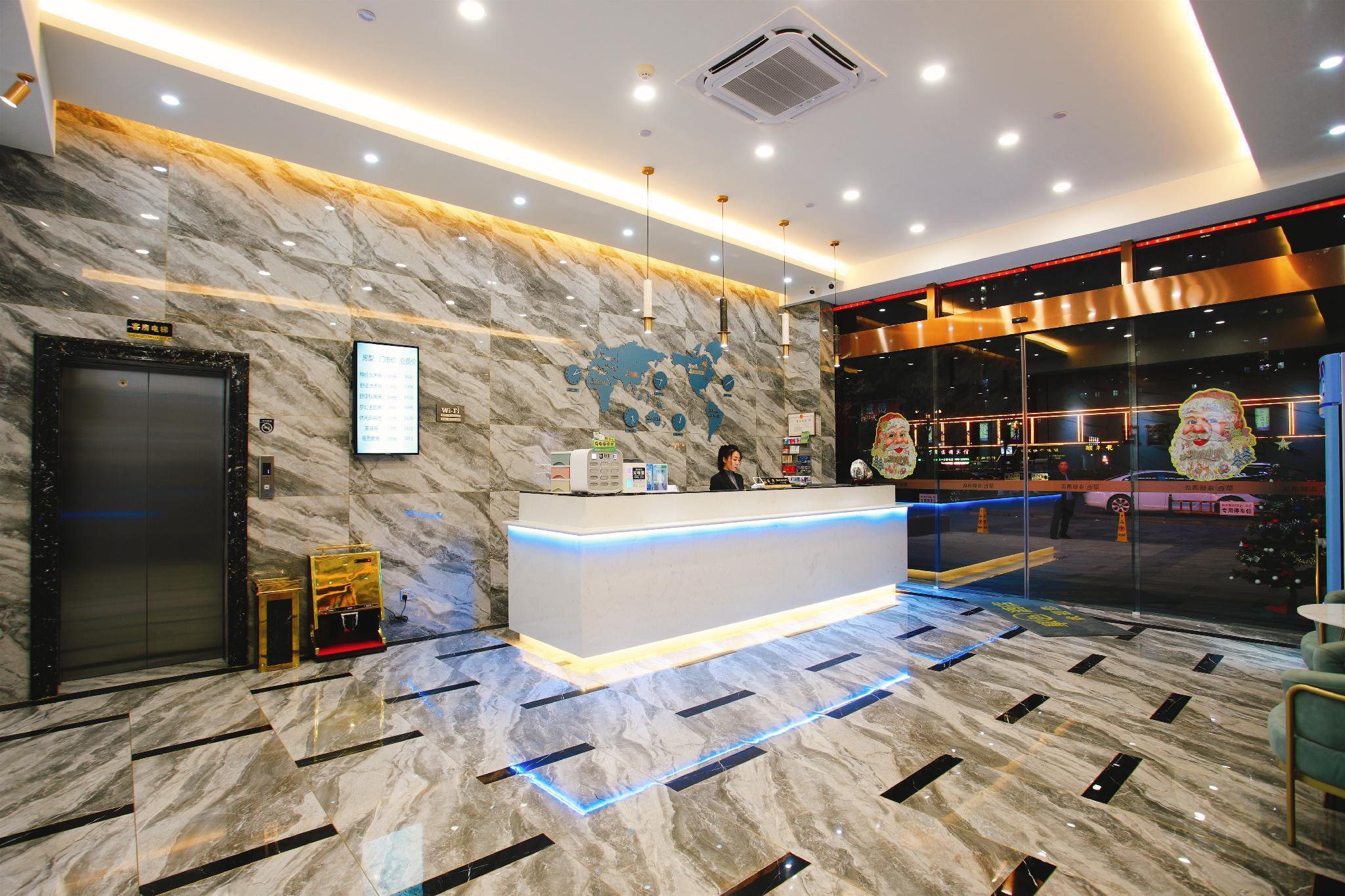 Monochrome Hotel Tengzhou Bus Terminal