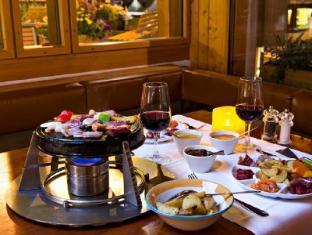 Hauser Swiss Quality Hotel Saint Moritz - Restaurant