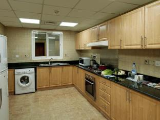 Lotus Downtown Metro Hotel Apartments Dubai - Kitchen
