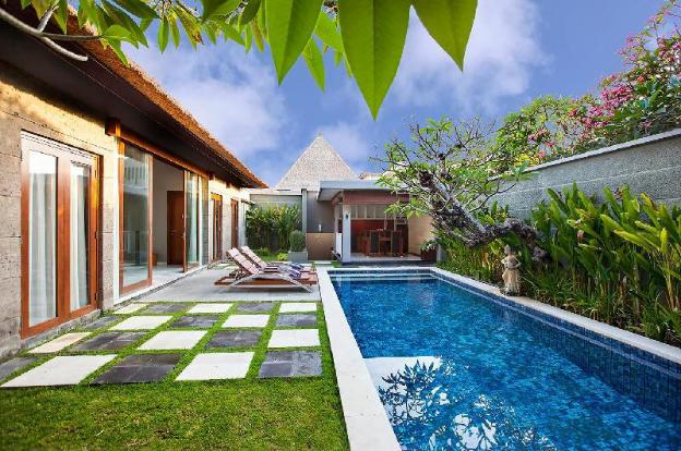 TwoBR Villa with Private Pool + Bathtub +Breakfast