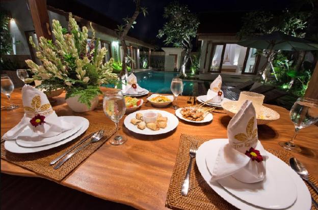 Three-Bedroom Villa - Breakfast @Canggu