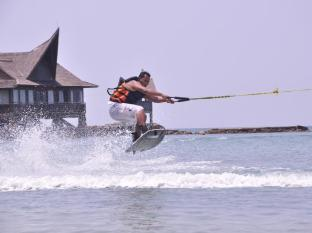 Batam View Beach Resort Batam Island - Wake Boarding at Placebo Beach Club