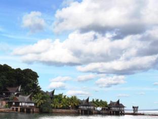 Batam View Beach Resort Batam Island - Villa View From The Beach