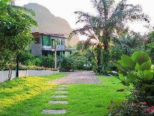 [ノッパラットタラ]一軒家(150m2)| 4ベッドルーム/3バスルーム Krabi Green Hill Pool Villas #Villa06