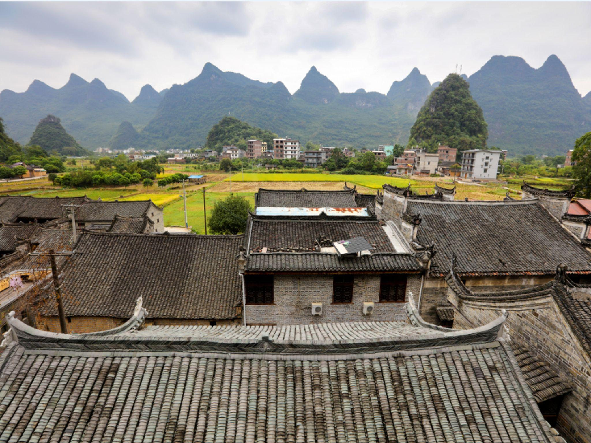 Yangshuo Fengguan Mountain Meilu Villeggiatura Inn