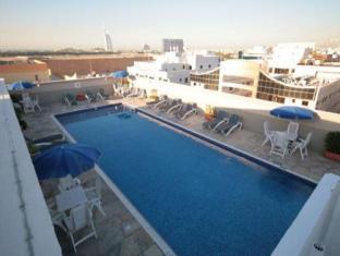 Rose Garden Hotel Apartments Al Barsha Dubai - Outdoor Swimming Pool