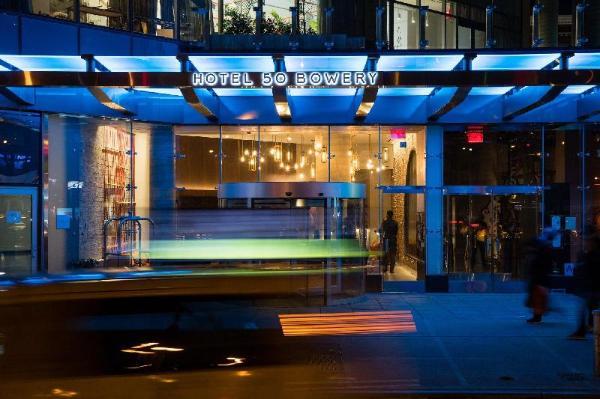 Hotel 50 Bowery NYC New York