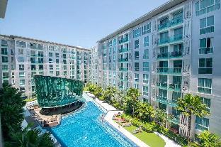 [パタヤ中心地]アパートメント(28m2)| 1ベッドルーム/1バスルーム E1 CCR Garden Pool Apartment near the beach