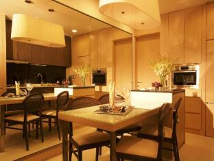 Fraser Suites Singapore Singapore - Two Bedroom Dining & Kitchen