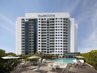 Fraser Suites Singapore Singapūras - Viešbučio išorė