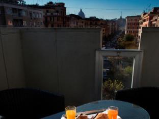 Twenty One Hotel Rome - Deluxe balcony