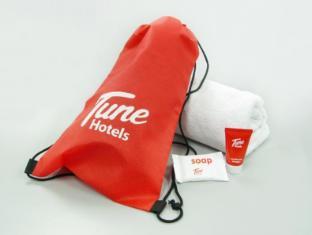 Tune Hotel - LCCT Kuala Lumpur - Towel Rental