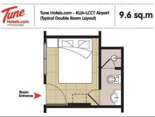 Tune Hotel - LCCT Kuala Lumpur - Guest Room