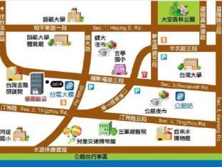 Li Yuan Hotel Taipei - Map