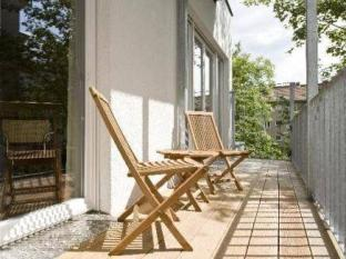 Pfefferbett Apartments Prenzlauer Berg बर्लिन - बालकनी/टैरेस
