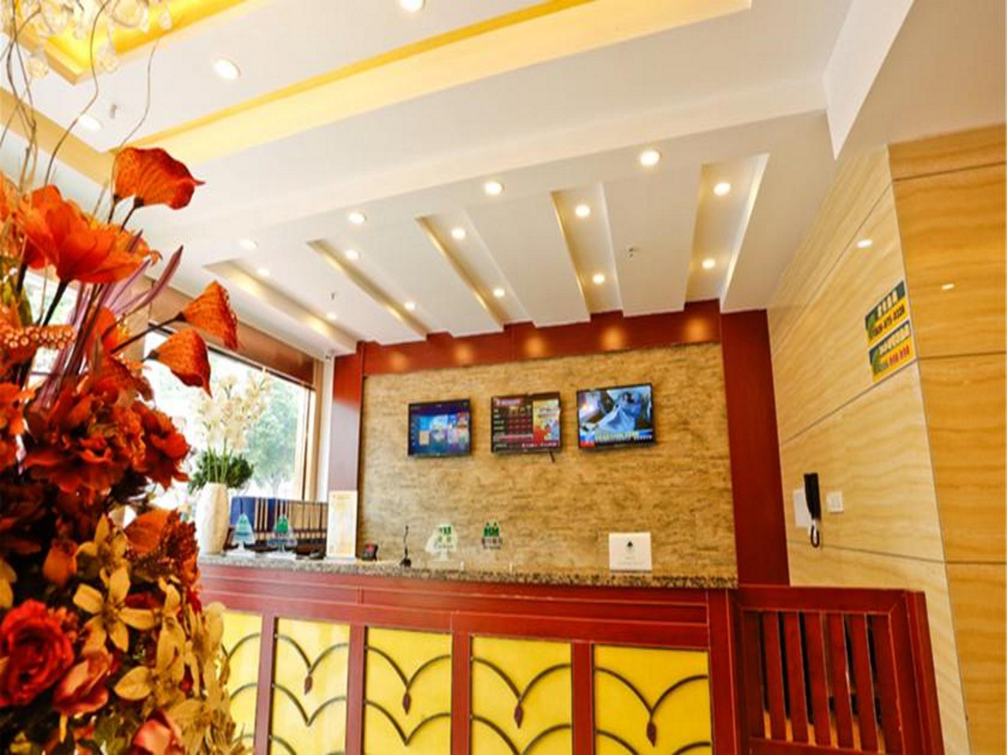 GreenTree Inn Jiangsu Suqian Suyang South Shanghai Road DaRunFa Business Hotel
