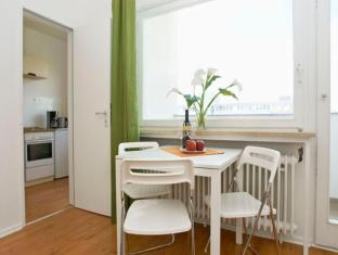 A & B Apartment & Boardinghouse Berlin Βερολίνο - Κουζίνα