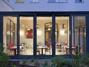 Red & Blue Design Hotel Prague Prag - Restaurant