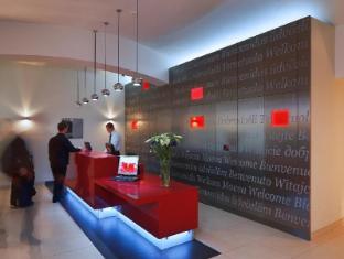 Red & Blue Design Hotel Prague Prag - Rezeption