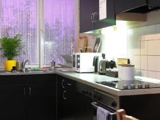 Maverick Hostel and Ensuites Budapest - Common kitchen